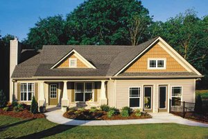 Home Plan Design - Country Exterior - Front Elevation Plan #927-132