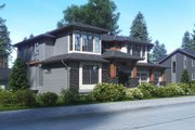 Contemporary Style House Plan - 5 Beds 4.5 Baths 4481 Sq/Ft Plan #1066-63