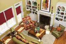 Dream House Plan - Country Interior - Family Room Plan #929-755
