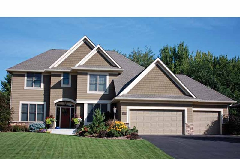 Country Exterior - Front Elevation Plan #51-1088 - Houseplans.com