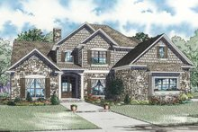 Traditional Exterior - Front Elevation Plan #17-3269