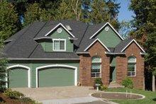 Dream House Plan - European Exterior - Front Elevation Plan #48-337