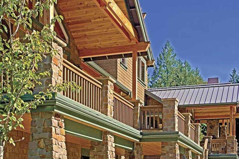 Contemporary Exterior - Rear Elevation Plan #951-2 - Houseplans.com