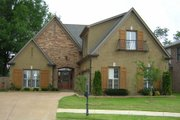 European Style House Plan - 4 Beds 3.5 Baths 2554 Sq/Ft Plan #81-13719 Exterior - Front Elevation