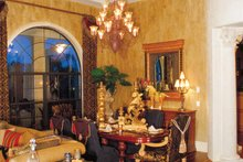House Plan Design - Mediterranean Interior - Dining Room Plan #417-527