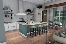 House Plan Design - Kitchen/Breakfast