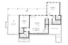 Craftsman Floor Plan - Lower Floor Plan Plan #437-112