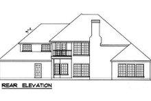 Traditional Exterior - Rear Elevation Plan #40-260