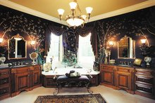 Dream House Plan - Traditional Interior - Master Bathroom Plan #437-56