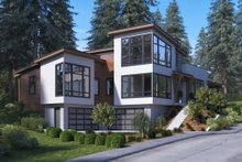 Architectural House Design - Modern Exterior - Other Elevation Plan #1066-43