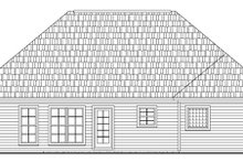 Traditional Exterior - Rear Elevation Plan #21-189