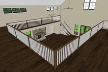 Dream House Plan - Interior Balcony
