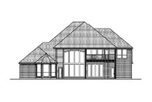 Home Plan - European Exterior - Rear Elevation Plan #84-428