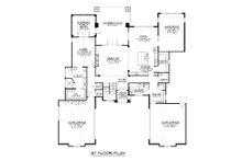 Modern Floor Plan - Main Floor Plan Plan #1064-19