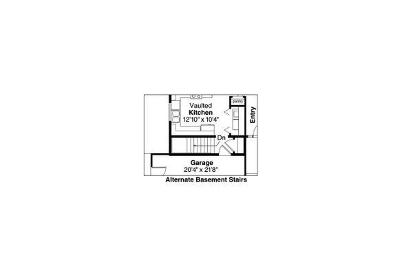 Traditional Floor Plan - Other Floor Plan Plan #124-871