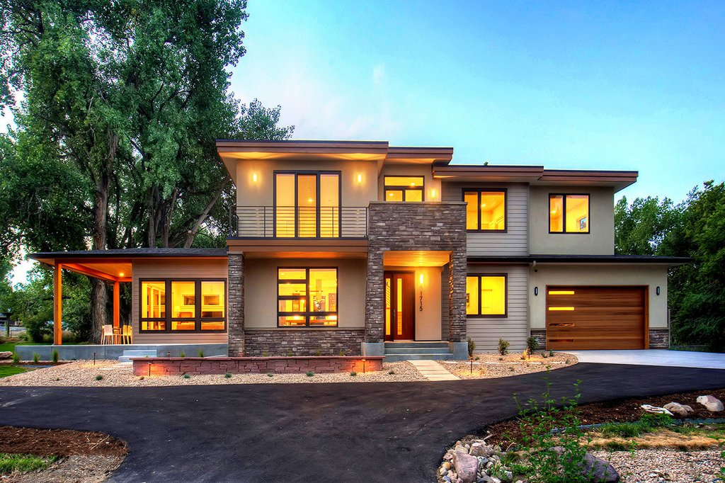 Contemporary Style House Plan - 4 Beds 3.5 Baths 3334 Sq ...