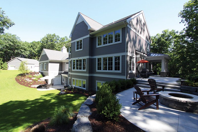 Craftsman Exterior - Rear Elevation Plan #928-277 - Houseplans.com