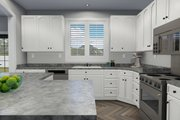 Traditional Style House Plan - 3 Beds 2.5 Baths 1999 Sq/Ft Plan #1060-46 Interior - Kitchen
