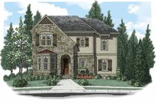 Home Plan - European Exterior - Front Elevation Plan #927-503