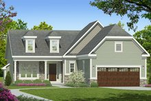 Dream House Plan - Ranch Exterior - Front Elevation Plan #1010-180