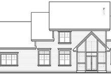 Craftsman Exterior - Rear Elevation Plan #23-832