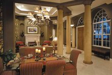 House Plan Design - Mediterranean Interior - Dining Room Plan #930-321