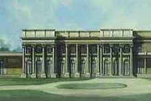 Dream House Plan - European Exterior - Front Elevation Plan #119-187