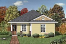 Craftsman Exterior - Front Elevation Plan #84-777