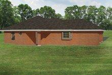 Ranch Exterior - Rear Elevation Plan #1061-30