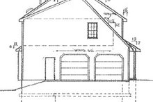 Country Exterior - Other Elevation Plan #405-314