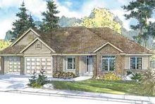 House Plan Design - Traditional Exterior - Front Elevation Plan #124-570