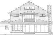 Craftsman Style House Plan - 3 Beds 3 Baths 3315 Sq/Ft Plan #1058-79 Exterior - Rear Elevation