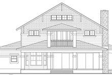 House Plan Design - Craftsman Exterior - Rear Elevation Plan #1058-79