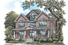 House Plan Design - Colonial Exterior - Front Elevation Plan #929-851