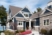Craftsman Style House Plan - 2 Beds 2.5 Baths 2851 Sq/Ft Plan #928-282 Exterior - Front Elevation