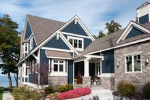 Dream House Plan - Craftsman Exterior - Front Elevation Plan #928-282