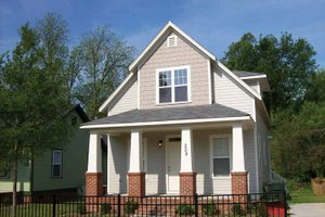 Dream House Plan - Craftsman Exterior - Front Elevation Plan #936-4