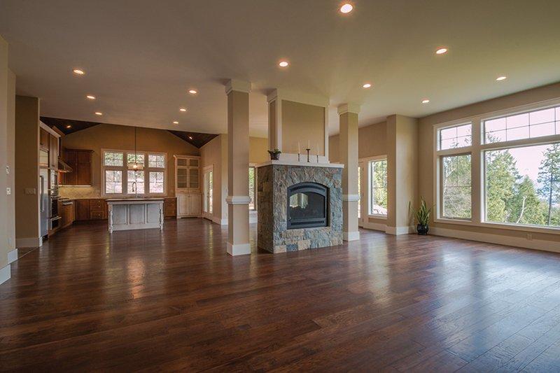 Craftsman Interior - Family Room Plan #928-280 - Houseplans.com