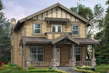 Craftsman Exterior - Front Elevation Plan #132-323