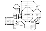 Country Style House Plan - 5 Beds 5 Baths 4038 Sq/Ft Plan #930-472 Floor Plan - Upper Floor Plan