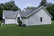 Craftsman Style House Plan - 3 Beds 2 Baths 1522 Sq/Ft Plan #1070-63 Exterior - Other Elevation
