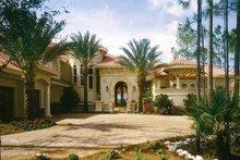 House Plan Design - Mediterranean Exterior - Front Elevation Plan #930-436