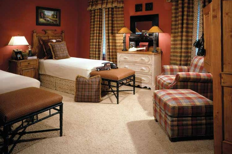 Colonial Interior - Bedroom Plan #429-327 - Houseplans.com