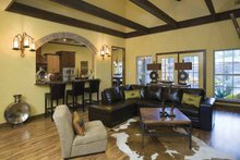 House Plan Design - Traditional Interior - Family Room Plan #17-2779