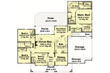 Country Floor Plan - Main Floor Plan Plan #430-47