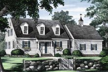 House Design - Colonial Exterior - Front Elevation Plan #137-180