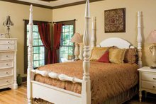 Dream House Plan - Country Interior - Master Bedroom Plan #929-651