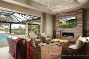 Mediterranean Style House Plan - 3 Beds 4.5 Baths 3371 Sq/Ft Plan #930-456 Interior - Other