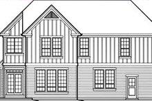 Craftsman Exterior - Rear Elevation Plan #48-236