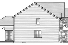 House Plan Design - Traditional Exterior - Other Elevation Plan #46-861